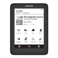 Электронная книга Digma T646 6  E-Ink Carta 1024x758 Touch Screen 600MHz 128Mb/4Gb/microSDHC черный